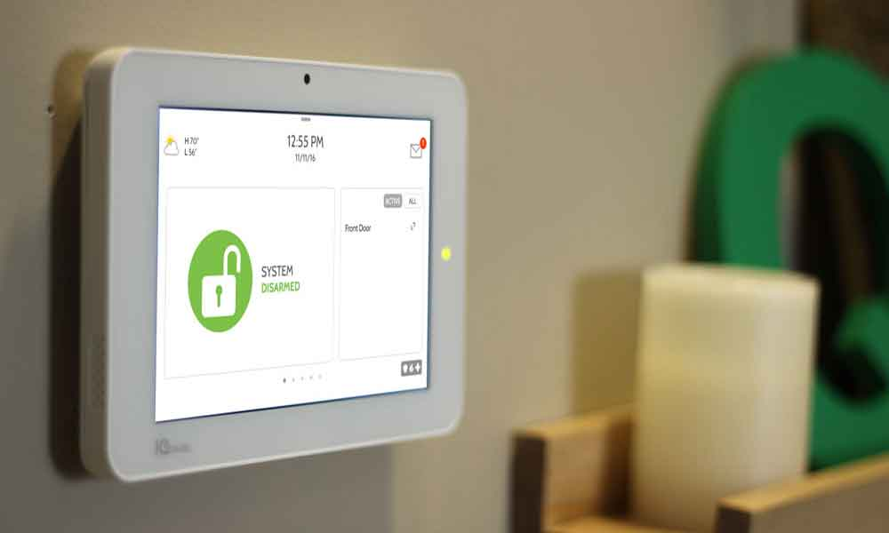 Qolsys IQ2 Security System & Smart Home Automation