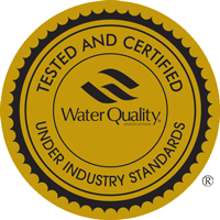 WQA Water Quality Association Approved